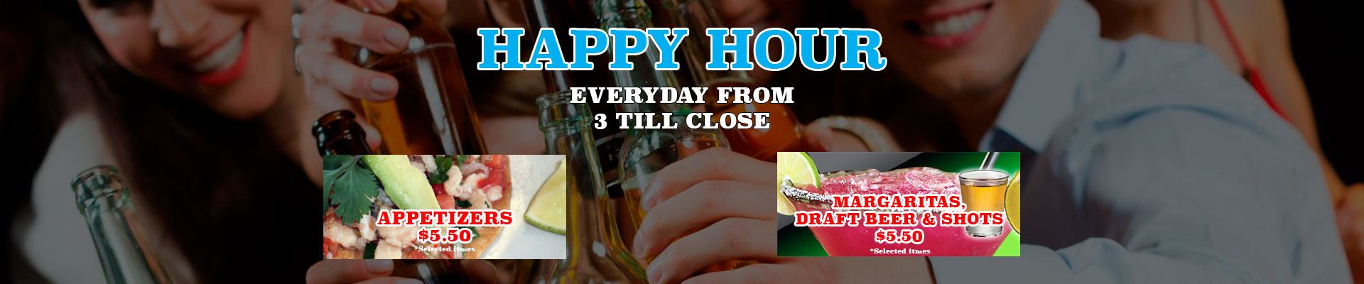 Happy Hour @ El Cazador Restaurant
